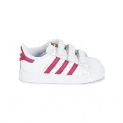 adidas superstar - blanc-rose