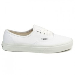 vans chaussure authentic - white