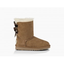 ugg enfant bailey bow - chetsnut