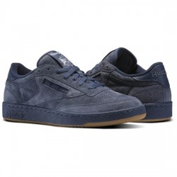 reebok club c 85 diamond - bleu