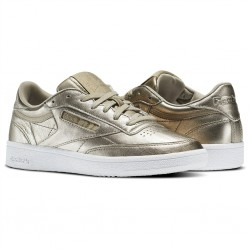 reebok club c 85 diamond - gold-metal