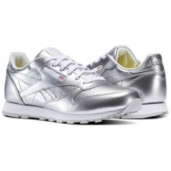 reebok classic leather metallic