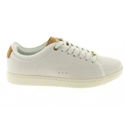 lacoste carnaby - white