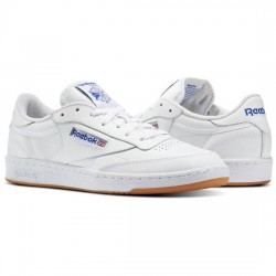 reebok club c 85 diamond - cuir-blanc