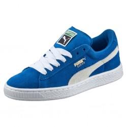 puma ksuede classic - bleu