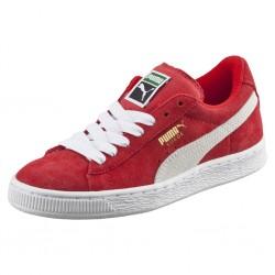 puma ksuede classic - rouge