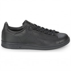 adidas chaussure stan smith - black-black