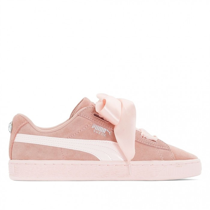 puma jr suede heart jewel