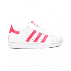 adidas superstar db1212 - blanc-rose