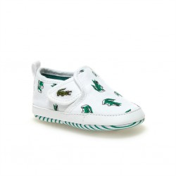 lacoste slip-on bébé gazon crib