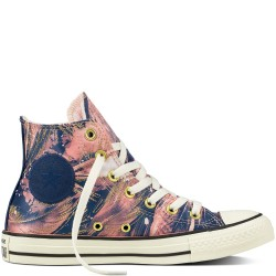 converse chuck taylor all star feather print