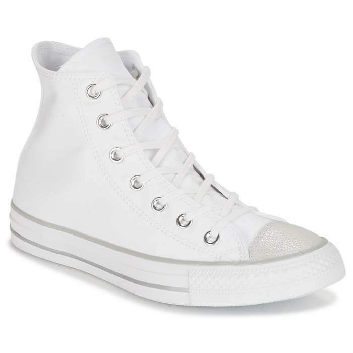 converse chuck taylor all star hi tipped metallic