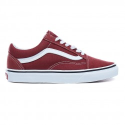 vans chaussures old skool - lie-de-vin