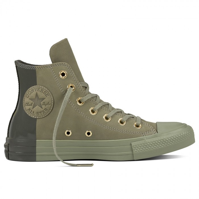 converse chuck taylor all star blocked nubuck high