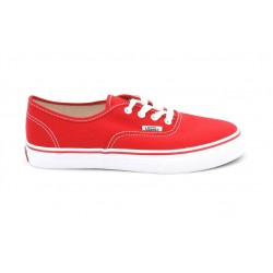 vans chaussure authentic enfant - red