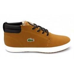 lacoste sneakers ampthill terra en cuir premium