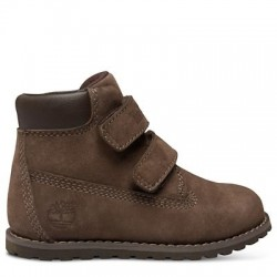 timberland pokey pine hook-et-loop petit enfant - marron
