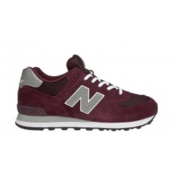 new balance 574 - bordeaux