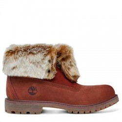 timberland authentics faux fur boots femme
