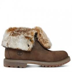 timberland authentics faux fur boots femme