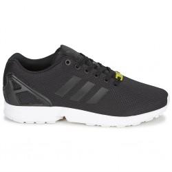 adidas chaussures zx flux - noir, toile, tissu