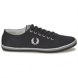 fred perry kingston twill b6259 - noir, textile, textile