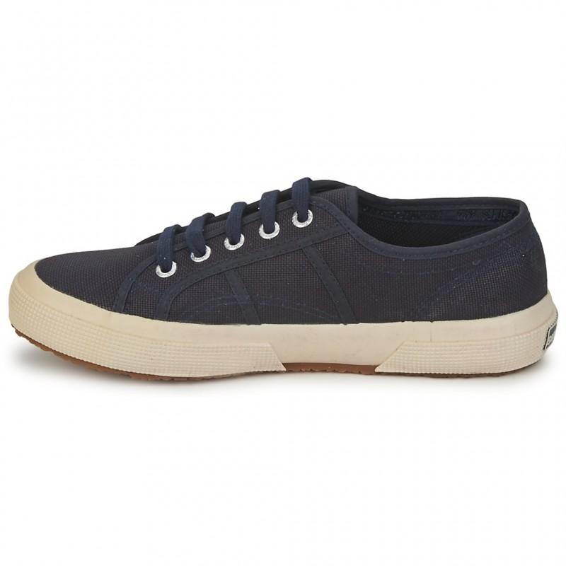 Adultes 2750 Neuf Classic Superga Toile 933 Tissu Chaussures 36 Navy 8qzKwd1