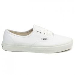 vans chaussure authentic - white, toile, tissu