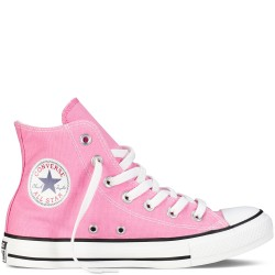 converse chuck taylor all star - rose, toile, tissu