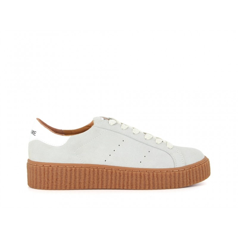 NO NAME PICADILLY - CREME CHAUSSURES ADULTES NEUF