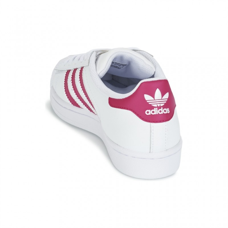 adidas superstar rose enfant