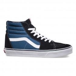 vans chaussure sk8 - navy, toile, tissu