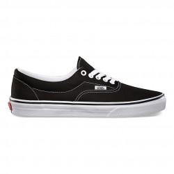 vans chaussure era - black, toile, tissu