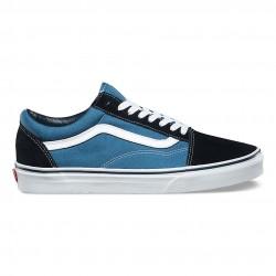 vans chaussures old skool - navy, toile, tissu