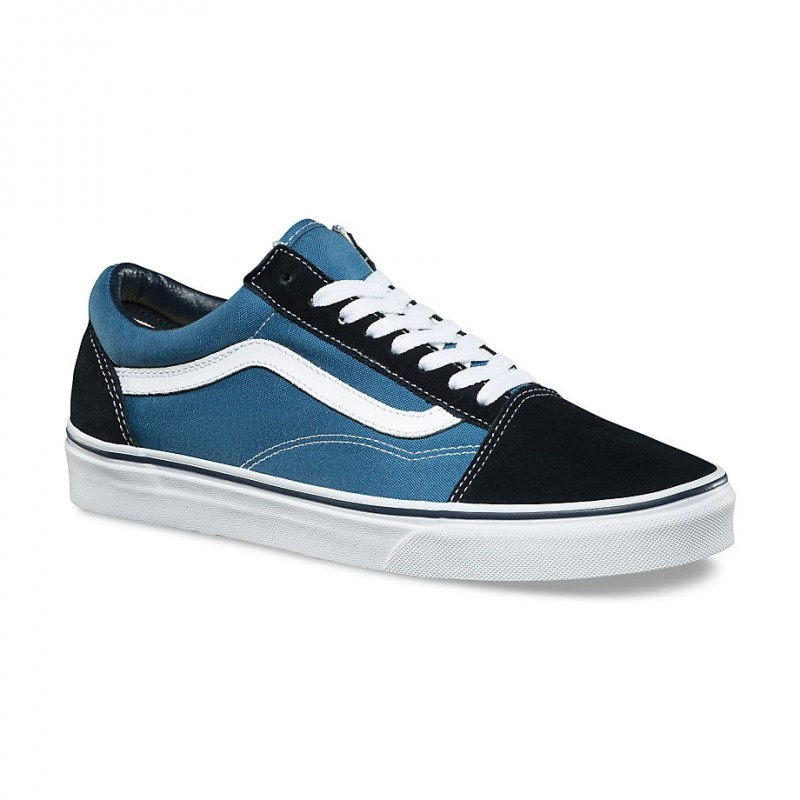 Vd3hnvy Adultes Tissu Old Skool Vans Chaussures Toile 40 Navy qgFIxCw