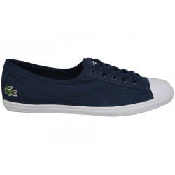 lacoste ziane - marine, cuir, textile