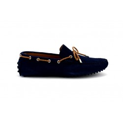 offshoes 150t - royal-blue, cuir velours, cuir