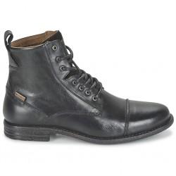 levi's 225115 - noir, cuir, tissu