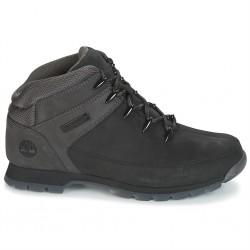 timberland euro sprint hiker jet a1kac - black, cuir, cuir/textile