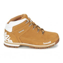 timberland euro sprint hiker homme jaune - miel, cuir, cuir/textile