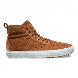 vans chaussure sk8 - tan, toile, tissu