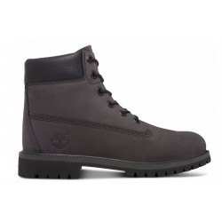 timberland 6 in premium wp boot forged iron - gris, cuir, cuir/textile