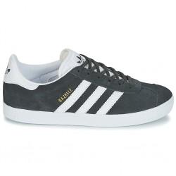 adidas chaussure gazelle - gris-dense, cuir/suede, textile
