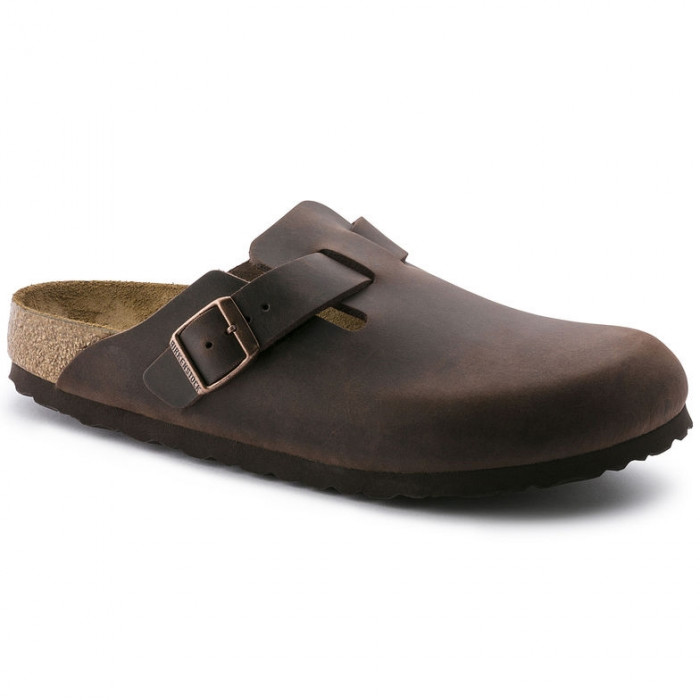 birkenstock boston cuir naturel,