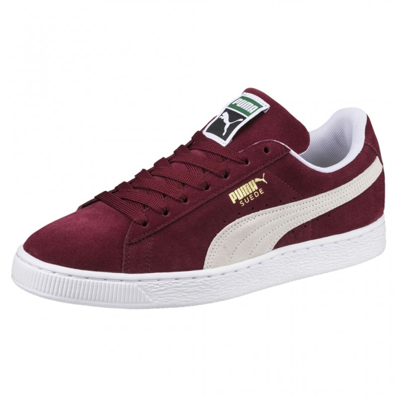 PUMA SUEDE ADULTES CLASSIC - BORDEAUX CHAUSSURES ADULTES SUEDE NEUF a44a14