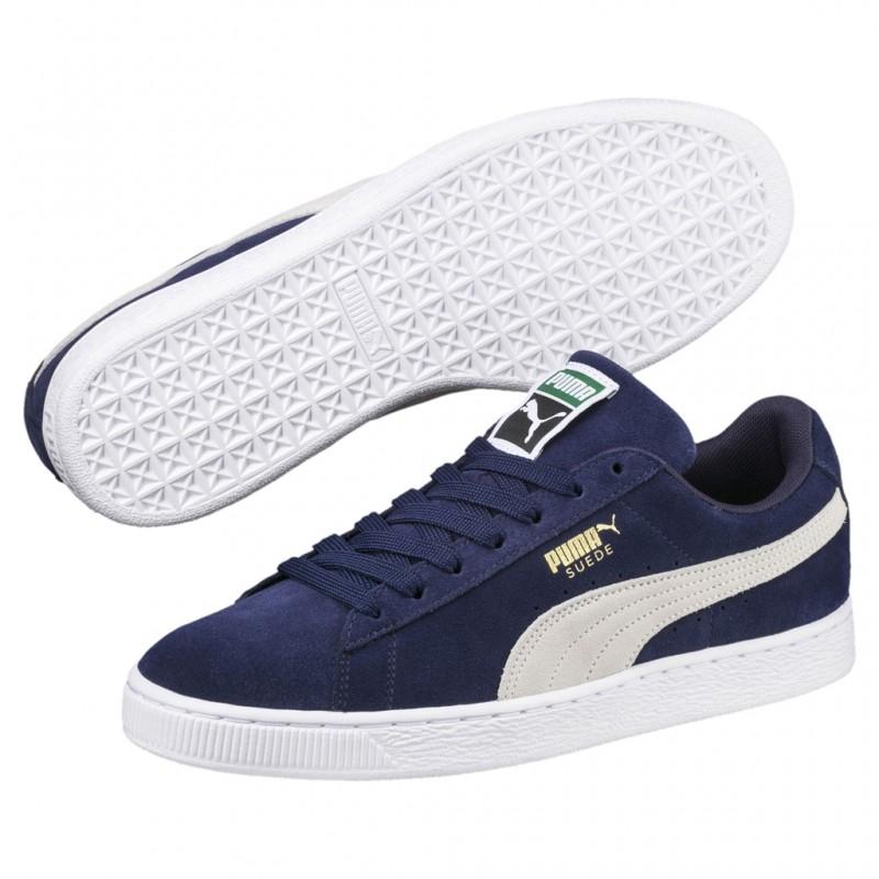 Terciopelo Adu 356568 Puma 44 cuero Classic Navy de Shoes 51 Suede qzzwXaxtg