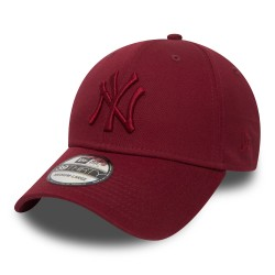 new era new york yankees essential cardinal red -