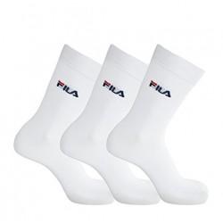 fila chaussettes de sport lot de 3 paires - pack-de-3, coton/poly/elas, coton/poly/elas