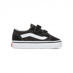vans old school enfant - black-white, textile, textile