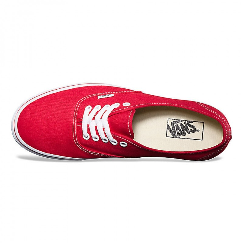 Détails sur VANS CHAUSSURE AUTHENTIC RED VEE3RED TOILE TISSU 36 RED CHAUSSURES ADULTES